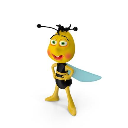 Biene-Charakter