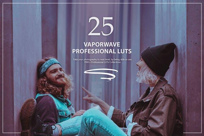 Thumbnail for 25 Vaporwave LUTs Pack