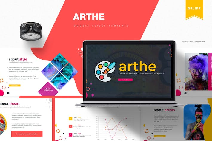 Thumbnail for Arthe | Google Slides Template
