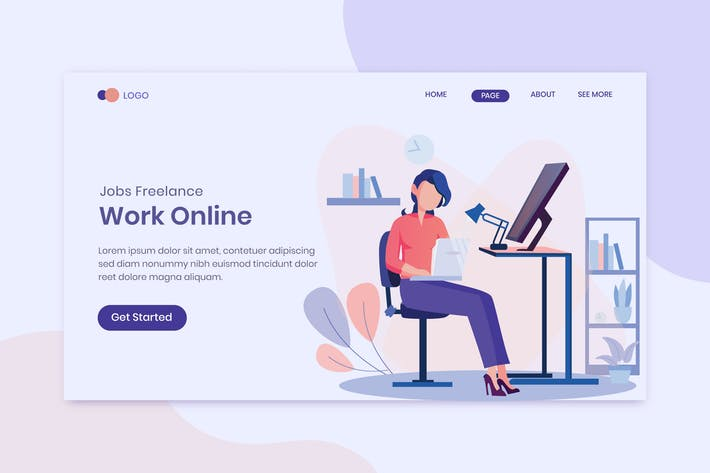 Thumbnail for Jobs Freelance  Work Online Landing Page