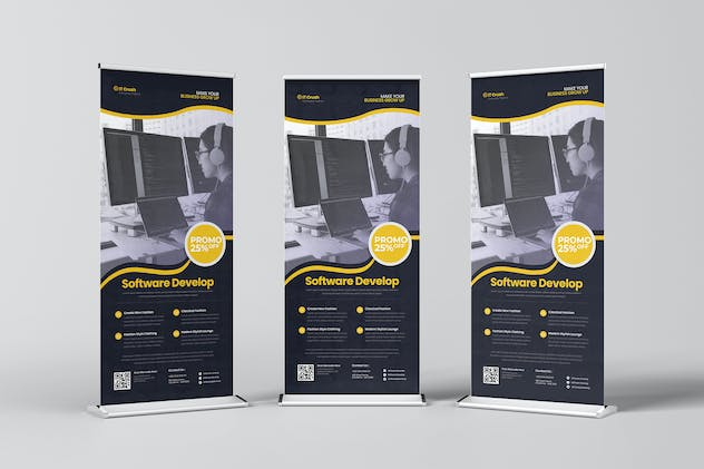 IT Crush Roll Up Banner