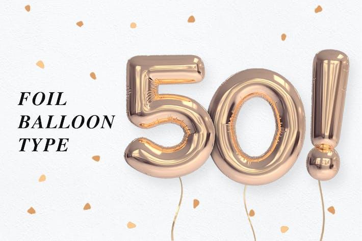 Thumbnail for Foil Balloon Type