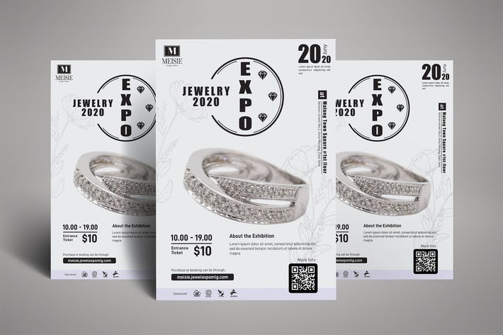 Thumbnail for Jewelry Exhibition Poster