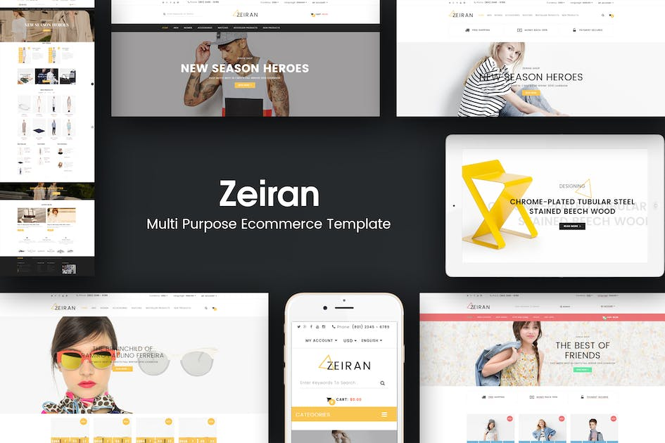 Download Zeiran - Multipurpose Responsive Magento Theme by Plaza-Themes