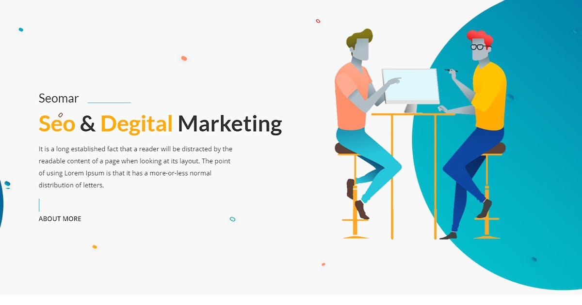 Seomar - SEO Digital Marketing HTML Template by codecarnival