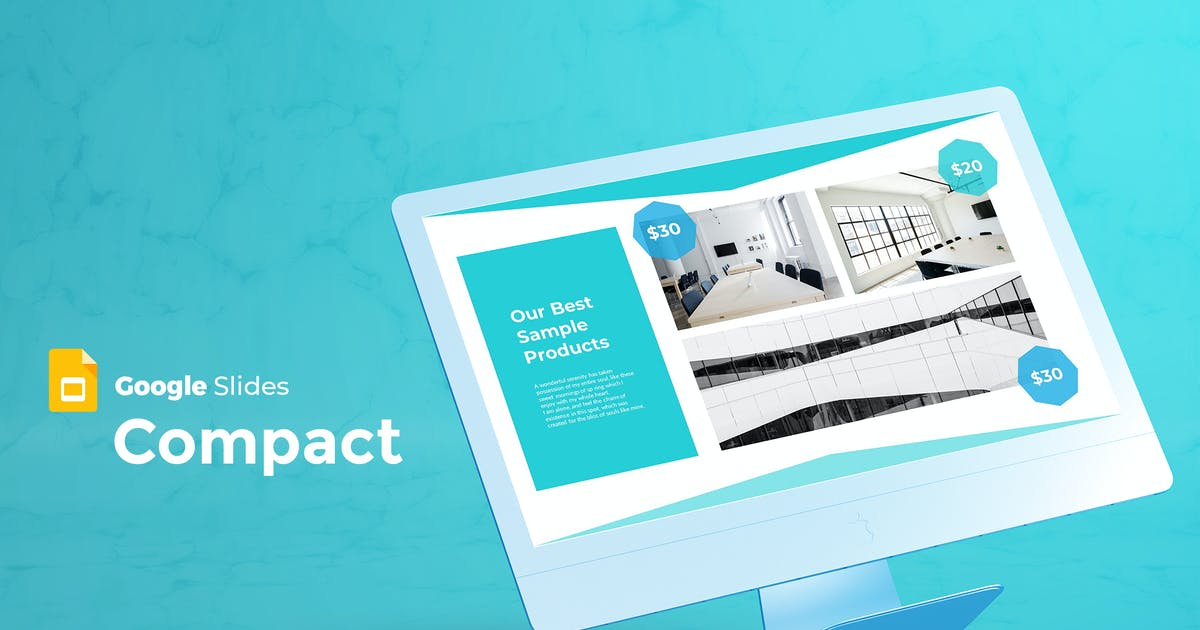 Download Compact - Google Slides Template by aqrstudio