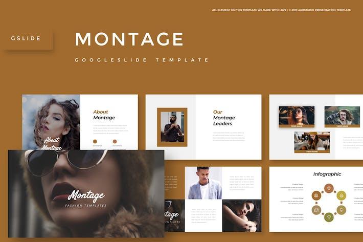 Thumbnail for Montage - Google Slide Template