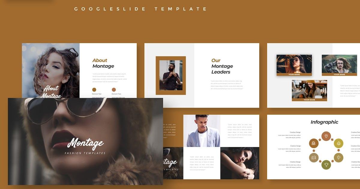 Download Montage - Google Slide Template by aqrstudio