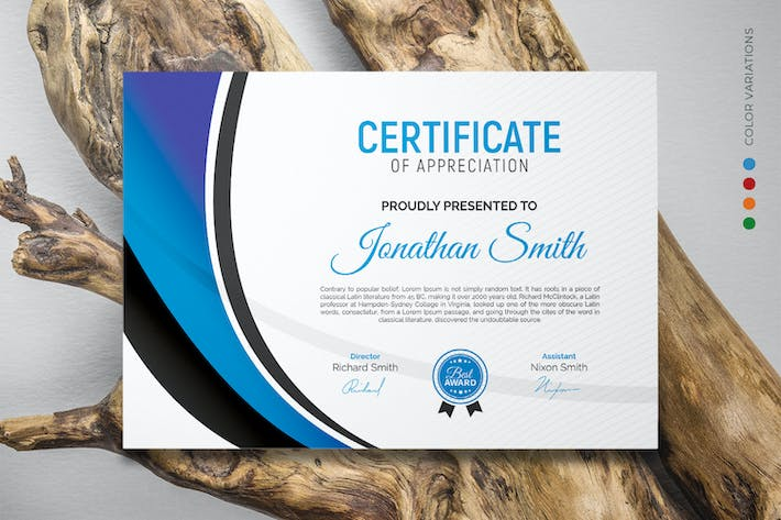 Thumbnail for Certificate
