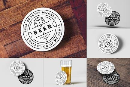 Beer Coaster Mock-up