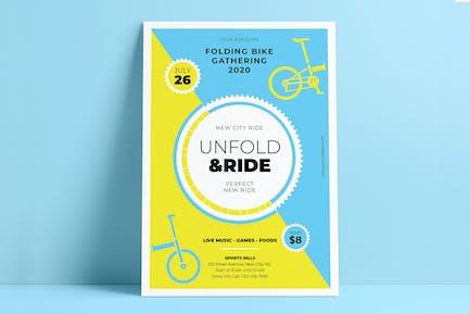 Unfold & Ride Flyers