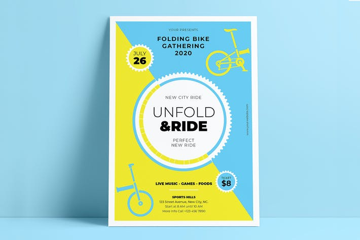 Unfold & Ride Flyers