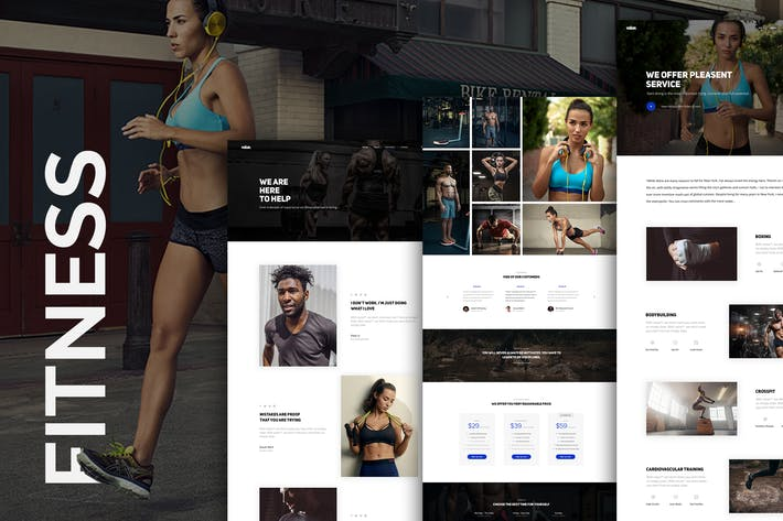 Thumbnail for Fitness Club Sports Activity and Event Template