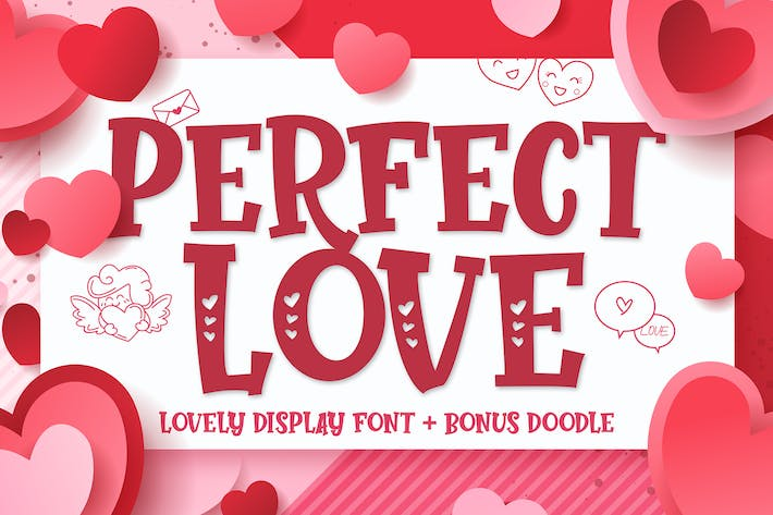 Thumbnail for Perfect Love - Mother Favorite Font