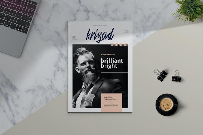 Thumbnail for KRIYAD - Clean Magazine