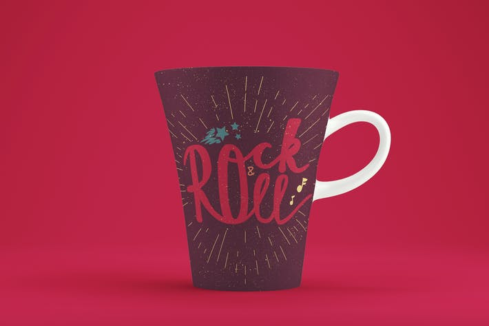 Cover Image For Rock'n'Roll Banner