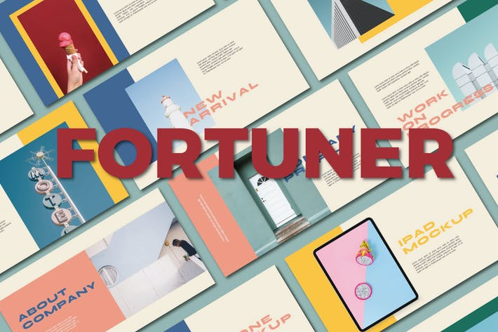 Шаблон ключевых заметок Фортунера