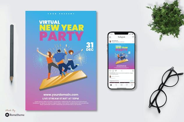Virtual New Year Festival - Flyer TY