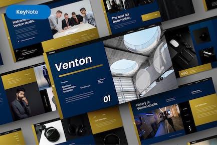 Venton – Business Keynote Template
