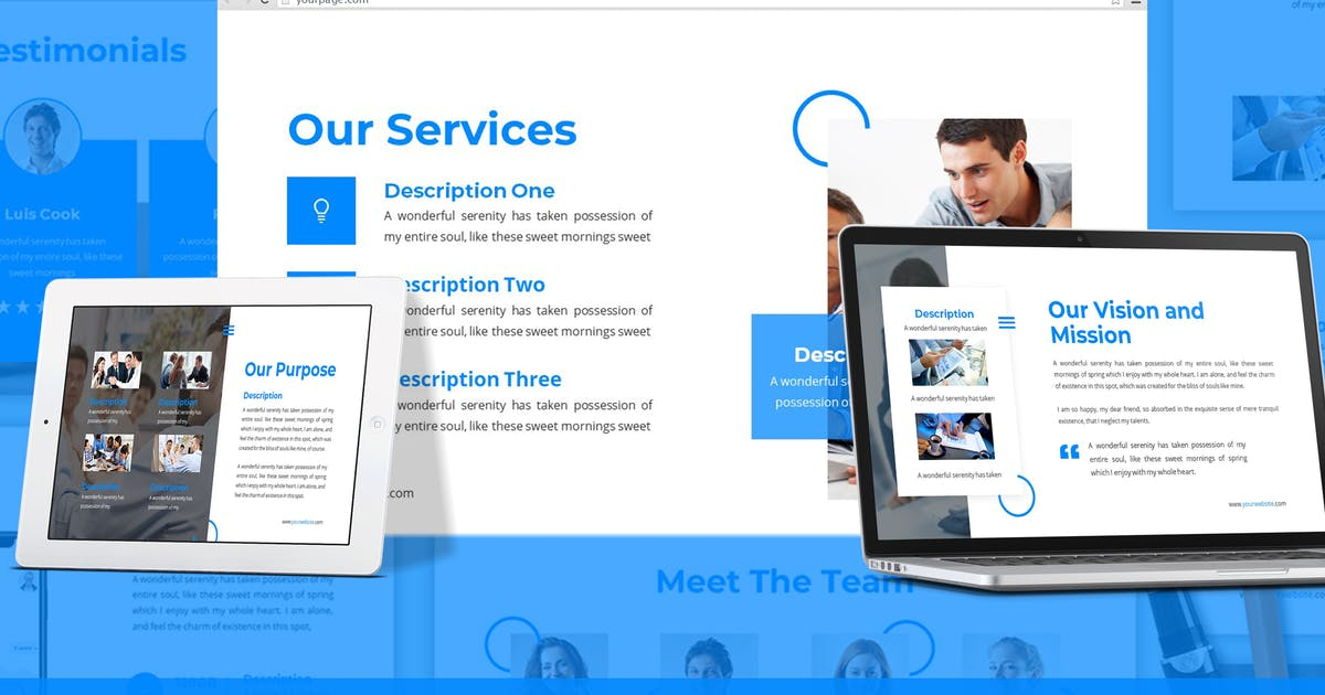 Download Highlight - Corporate Google Slides Template by SlideFactory