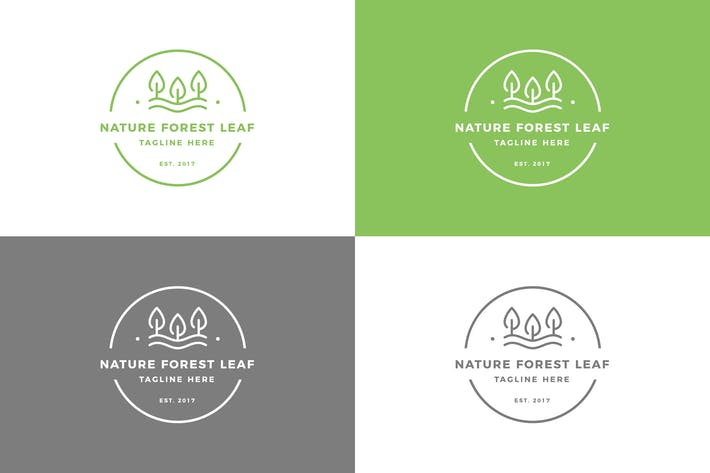 Thumbnail for Nature Forest - Logo Template
