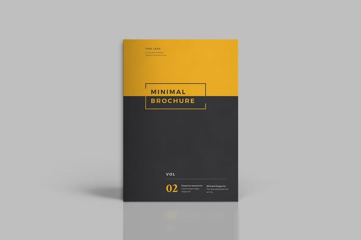Thumbnail for Minimal Brochure vol 4