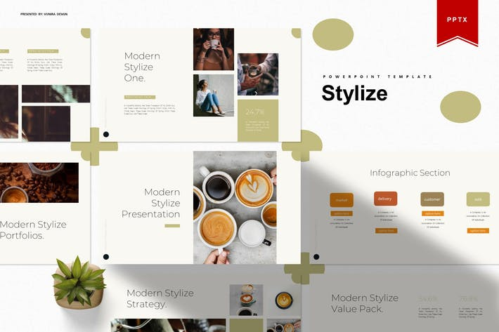 Thumbnail for Stylize | Powerpoint Template