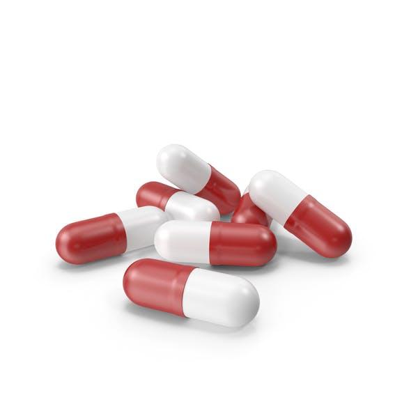 Таблетки Капсулы Красный