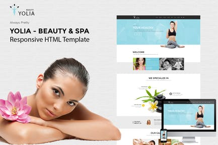 Yolia - Beauty & Spa HTML Template