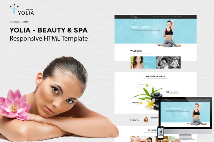 Thumbnail for Yolia - Beauty & Spa HTML Template