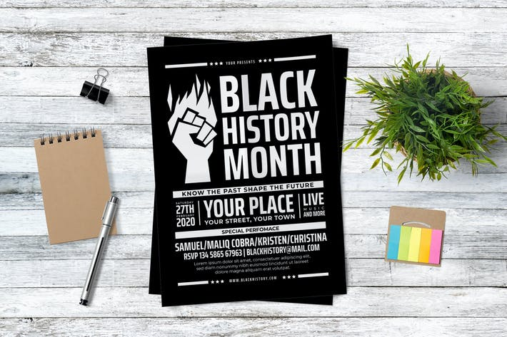 Cover Image For Black History Month