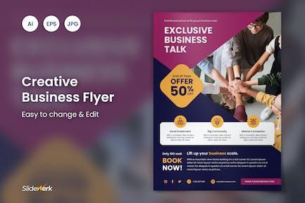 Creative Business Event Flyer 47 - Slidewerk