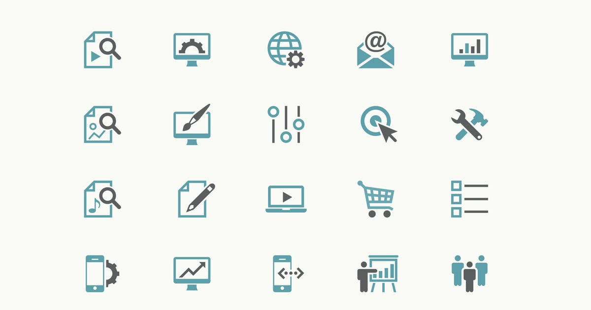 Download Two Colors Icons by Jumsoft