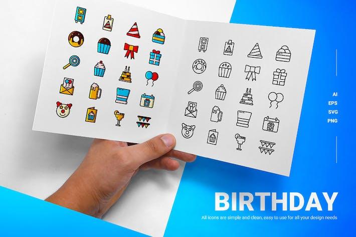 Cumpleaños - Íconos