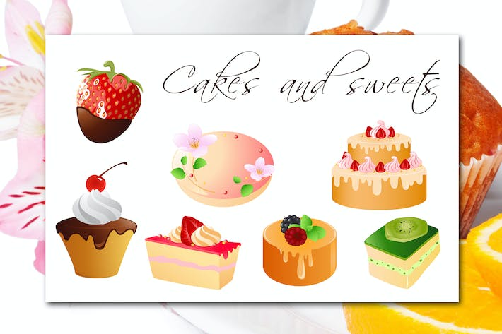 Thumbnail for Cakes and Sweets