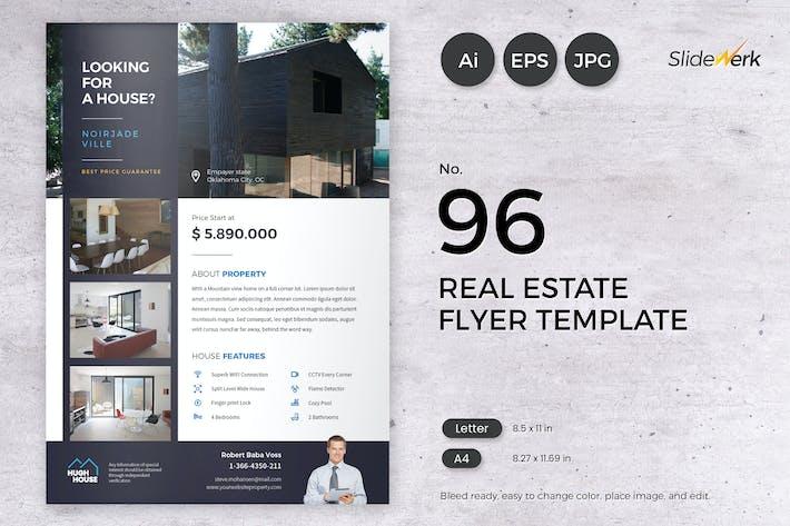 Thumbnail for Real Estate Flyer Template 96 - Slidewerk