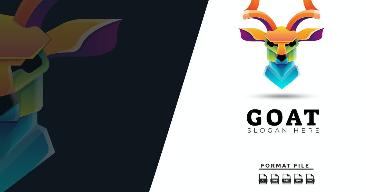 Download Goat Gradient Logo by jeckishit