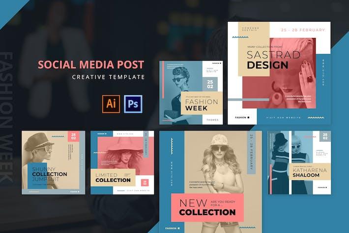 Thumbnail for Fashion Week Social Media Post
