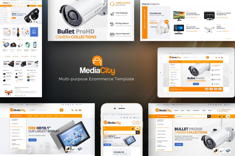 Download MediaCity - Technology Responsive Magento Theme by Plaza-Themes