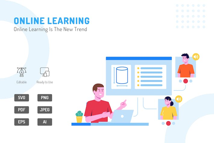 Thumbnail for Online Learning Is The New Trend illustration