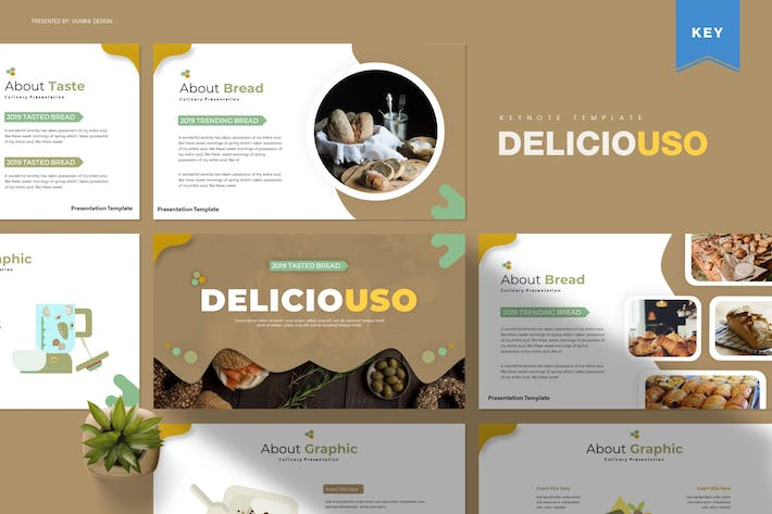 Thumbnail for Deliciousi | Keynote Template