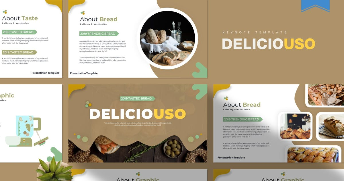 Download Deliciousi   Keynote Template by Vunira