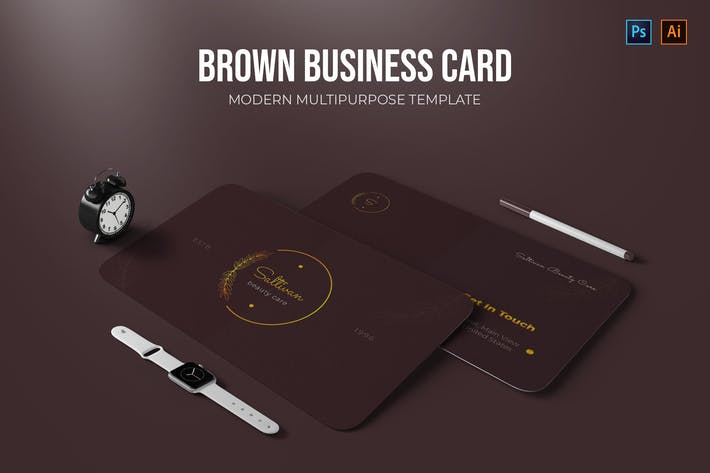 Thumbnail for Brown - Business Card
