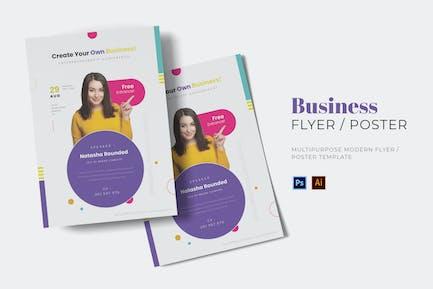 Business Movement Flyer