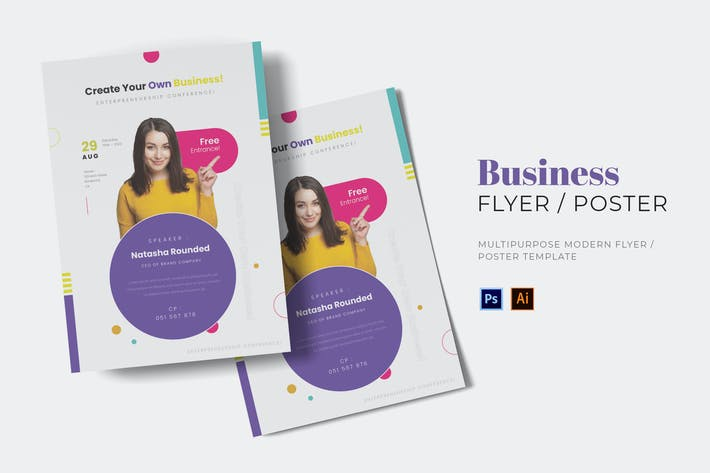 Thumbnail for Business Movement Flyer