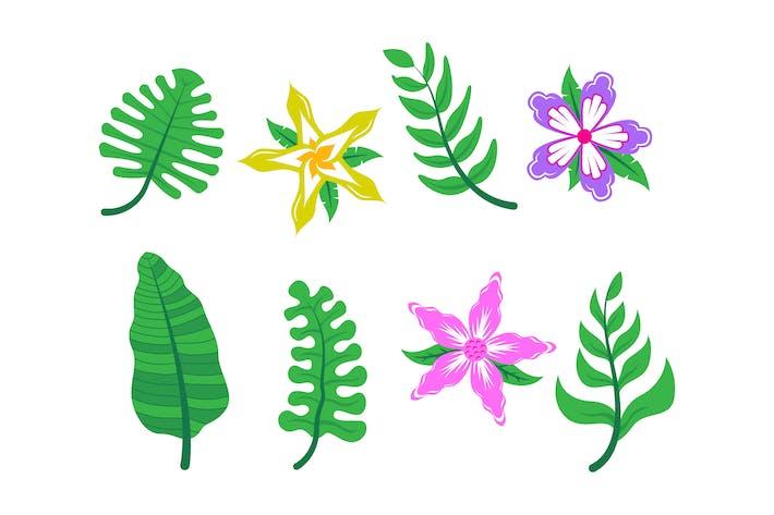 Tropical Leaves 3