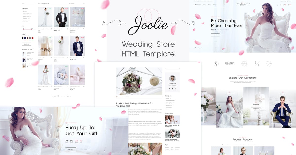 Download Joolie - Wedding Store HTML Template by George_Fx