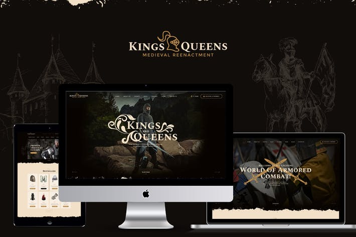 Cover Image For Kings & Queens