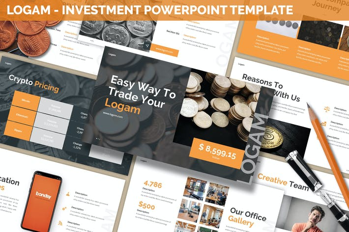 Thumbnail for Logam - Investment Powerpoint Template