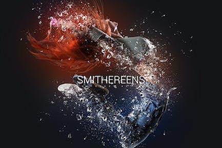 Acción de Smithereens Photoshop